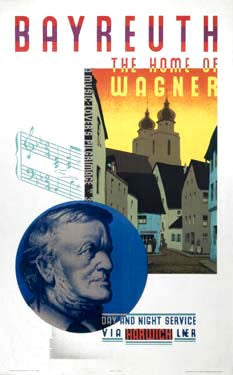 Bayreuth, the Home of Wagner by Austin Cooper Fine Art Print