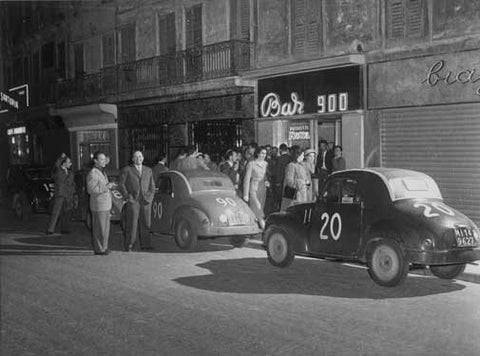 1952 Mille Miglia Photo Fine Art Print