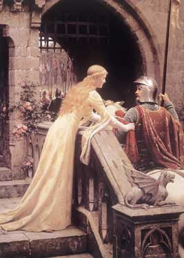 God Speed by Edmund Leighton Fine Art Print