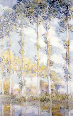 Poplars by Claude Monet Fine Art Print
