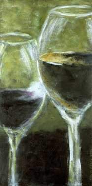 Wine Glasses by Kira Pierce Fine Art Print