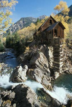 Crystal Mill Fine Art Print