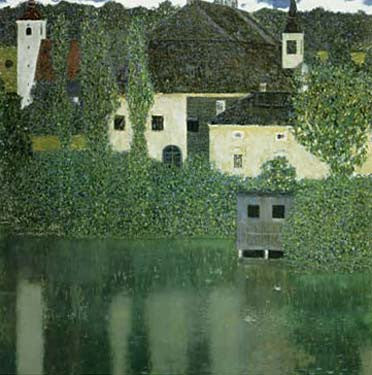 Unterach Castle on the Attersee by Gustav Klimt Fine Art Print