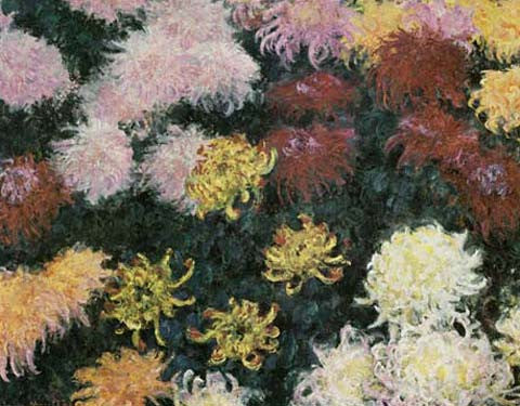 Chrysanthemum, 1897 by Claude Monet Fine Art Print