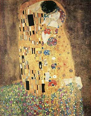 The Kiss by Gustav Klimt Fine Art Print