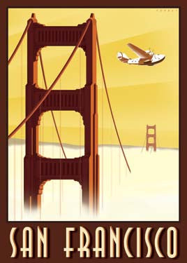 San Francisco, California by Steve Forney Fine Art Print