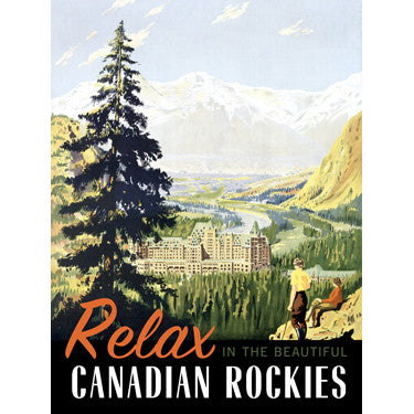 Personalized Relax In The Rockies Wood Sign