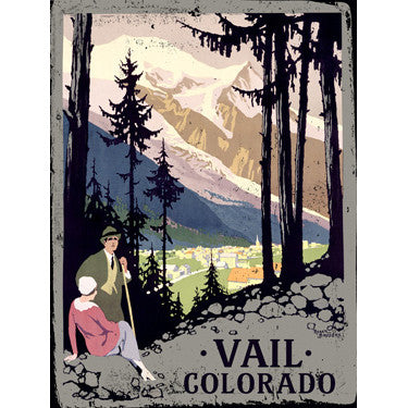 Personalized Vail Wood Sign
