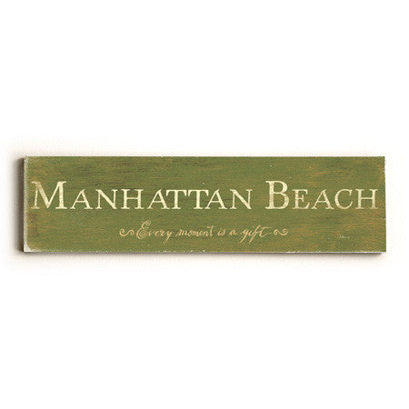 Personalized Every Moment City Sign Wood Sign