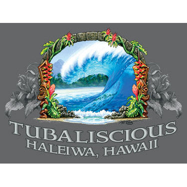 Personalized Tubaliscious Hawaii Wood Sign