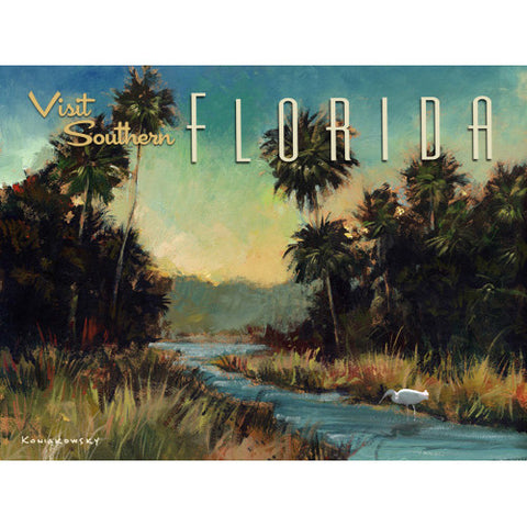 Personalized Visit Florida Wood Sign