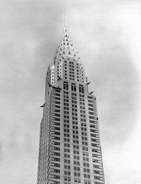 1930 New York City Chrysler Building Fine Art Print