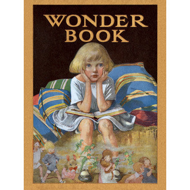 Wonder Book Wood Sign