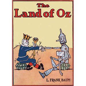 The Land Of Oz Wood Sign