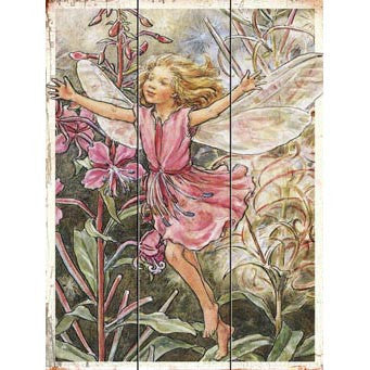 Fairy Child Wood Sign