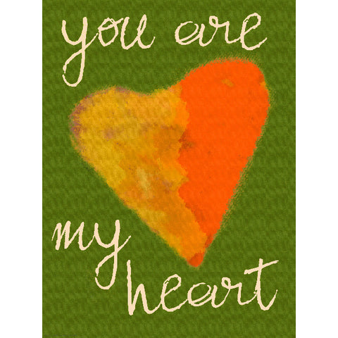 You Are My Heart by Artist Lisa Weedn Wood Sign