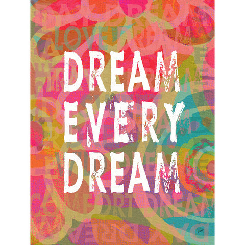 Dream Every Dream by Artist Lisa Weedn Wood Sign
