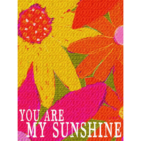 My Sunshine by Artist Lisa Weedn Wood Sign