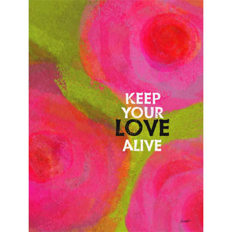 Keep Your Love by Artist Lisa Weedn Wood Sign