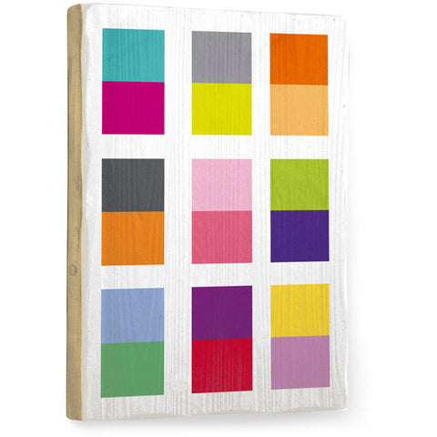 Color Squares by Artist Amanda Catherine Wood Sign
