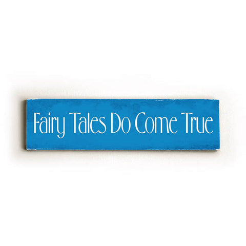 Fairy Tales Wood Sign