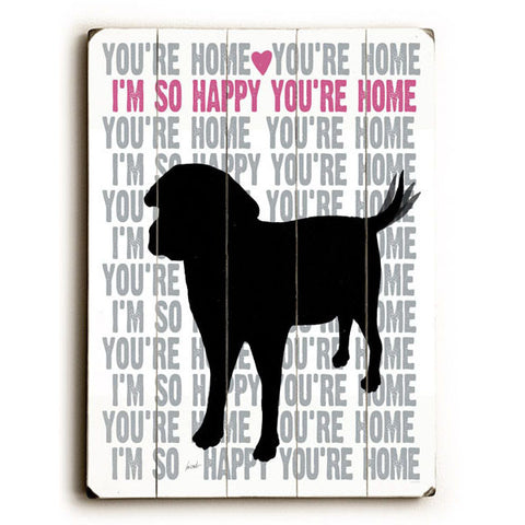 You're Home by Artist Lisa Weedn Wood Sign