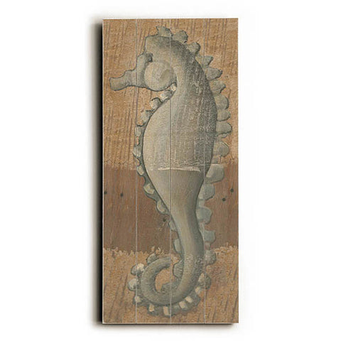 Seahorse by Artist Colette Cosentino Wood Sign
