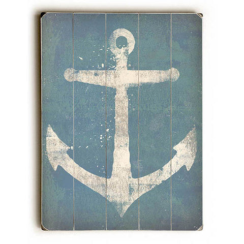 Anchor by Artist Ryan Fowler Wood Sign