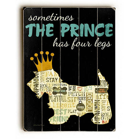 My Prince by Artist Kate Ward Thacker Wood Sign