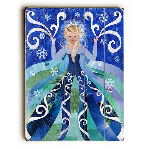 Ice Queen by Artpop Art Wood Sign