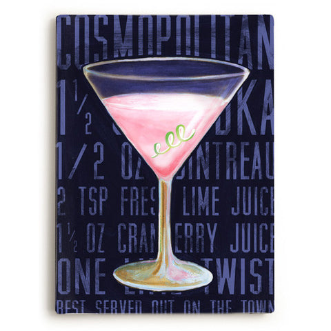 Cosmo by Artist Cory Steffen Wood Sign