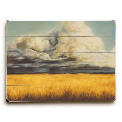 Big Plain by Artist Cory Steffen Wood Sign