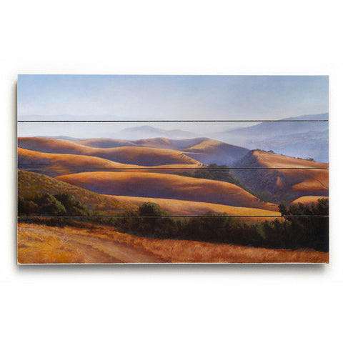 Salinas Valley by Artist Cory Steffen Wood Sign