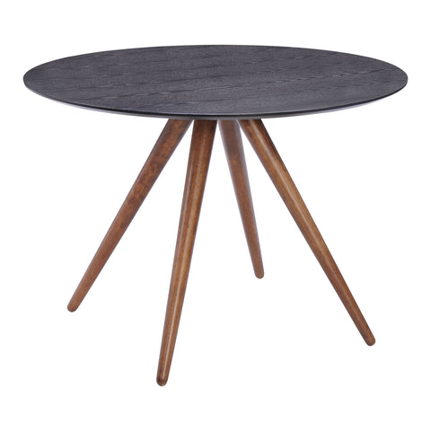 Grapeland Heights Dining Table Walnut & Black