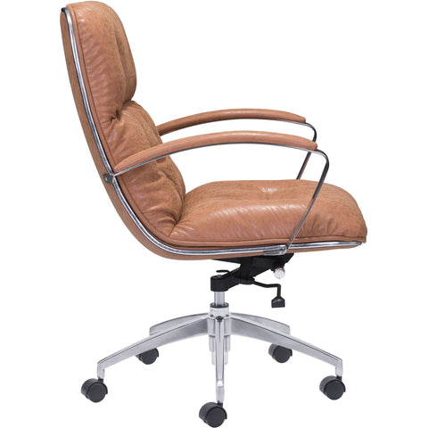 Avenue Office Chair Vintage, Coffee