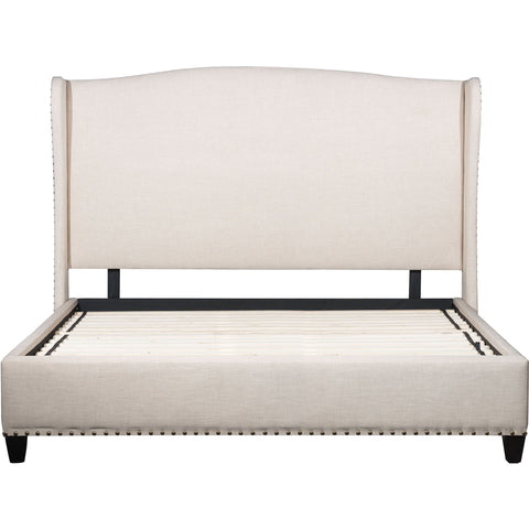 Enlightenment King Bed, Beige