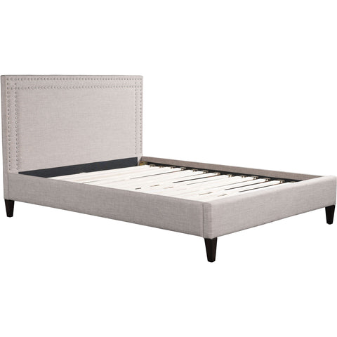 Renaissance Queen Bed Dove, Gray