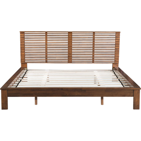 Linea King Bed, Walnut