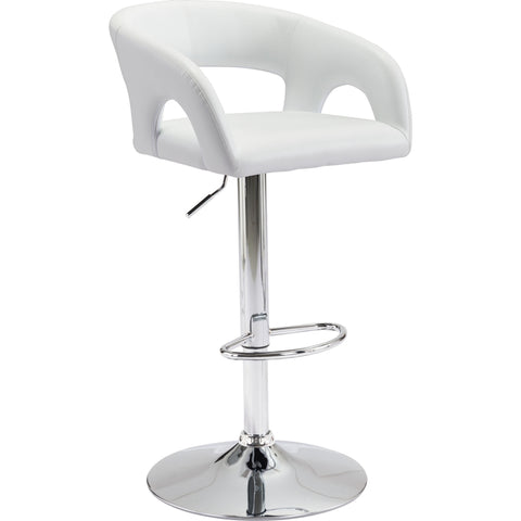 Hark Bar Chair, White