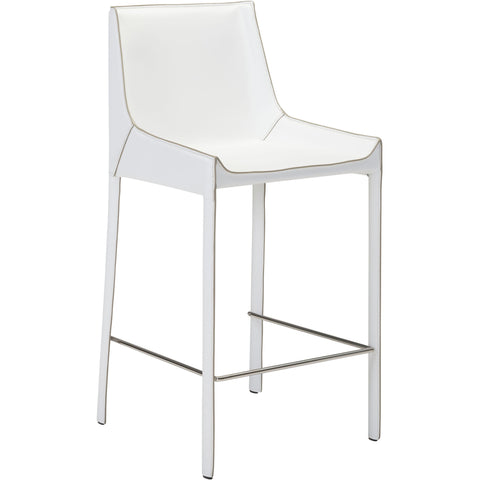 Fashion Bar Chairs, White (Set of 2)
