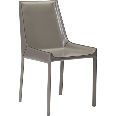 Fashion Dining Chairs, Stone Gray (Set of 2)