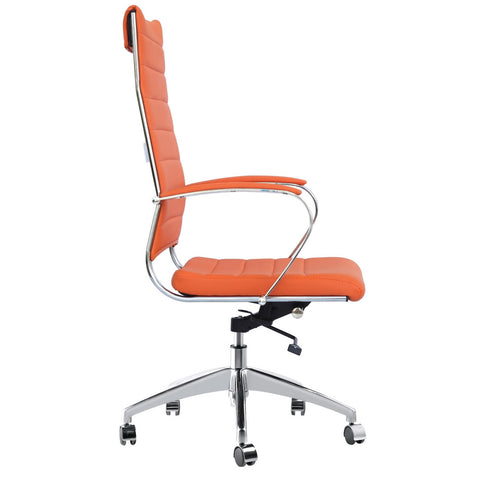 Sopada Conference Office Chair High Back, Orange