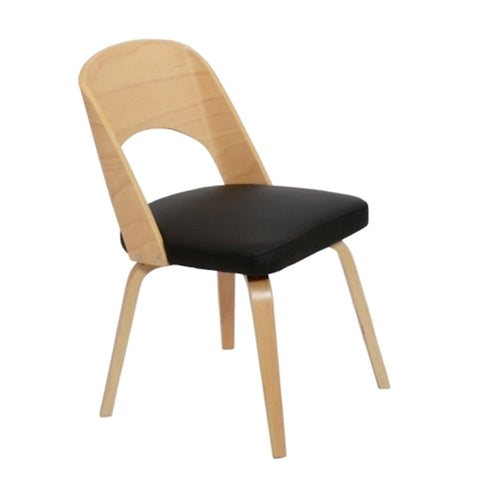Bendino Dining Chair, Black