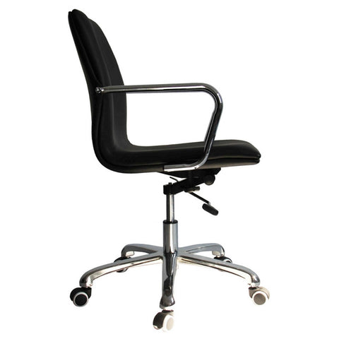 Confreto Conference Office Chair Mid Back, Black