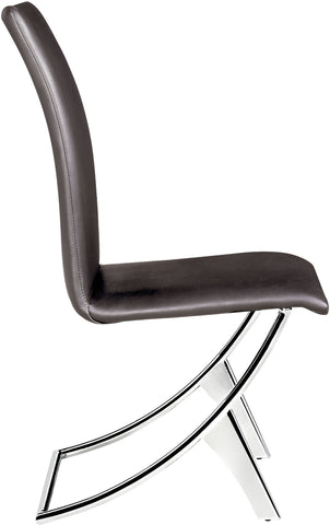 Delfin Dining Chair Espresso (Set of 2)