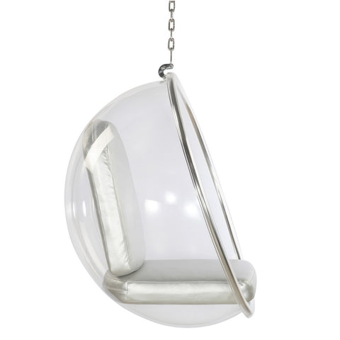 Bubble Hanging Chair, Silver