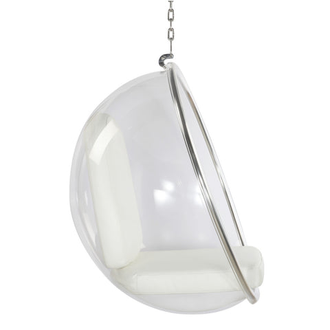 Bubble Hanging Chair, White