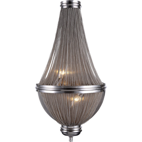 "Paloma 13.5"" W Wall Sconce, Pewter Finish"