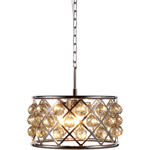 Trinity 4-Light Pendant, Golden Iron Finish