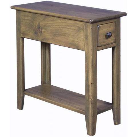 Wingback Side Table